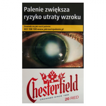 Papierosy Chesterfield Ks Red