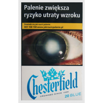 Papierosy Chesterfield Ks Blue