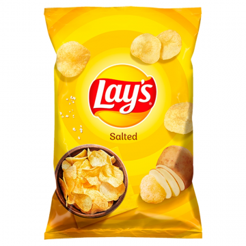 Chipsy Lays solone 140g.