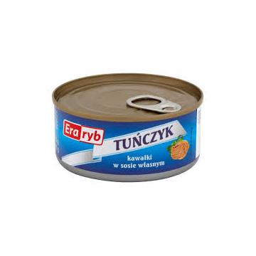 Tuńczyk kawałki w sosie...