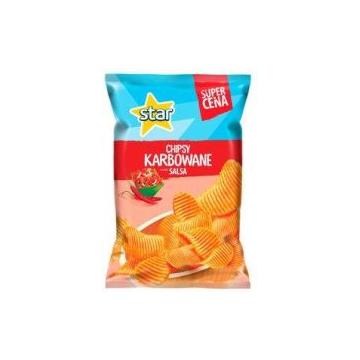 Star Chips 130g - karbowane...